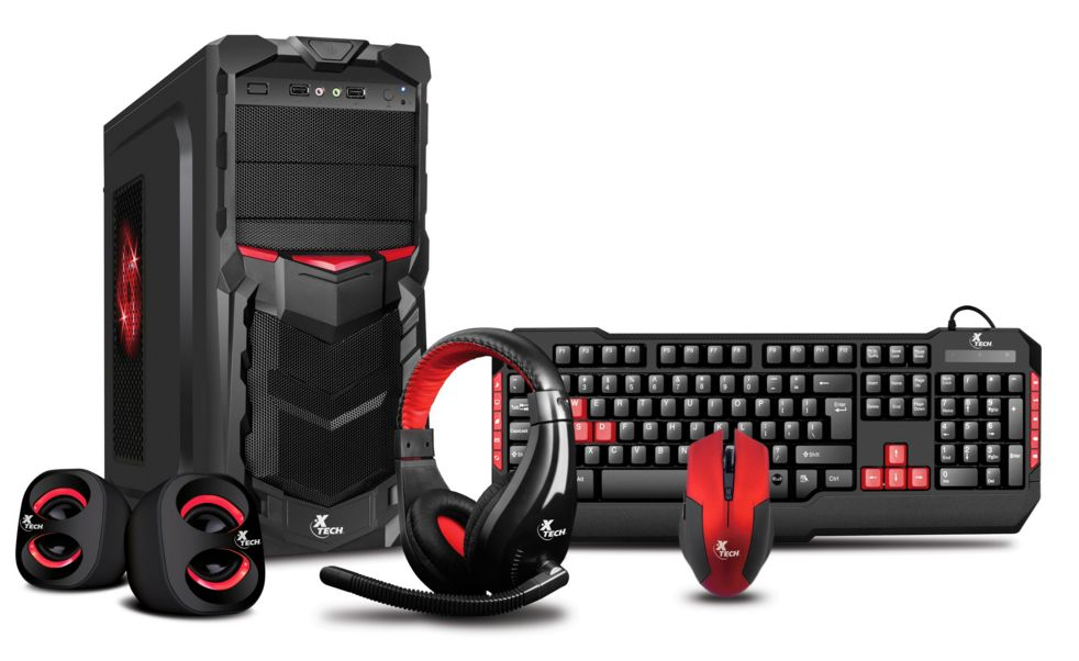 Case Gaming Atx Xt-gmr Cs710xtk02 Blck/red Combo