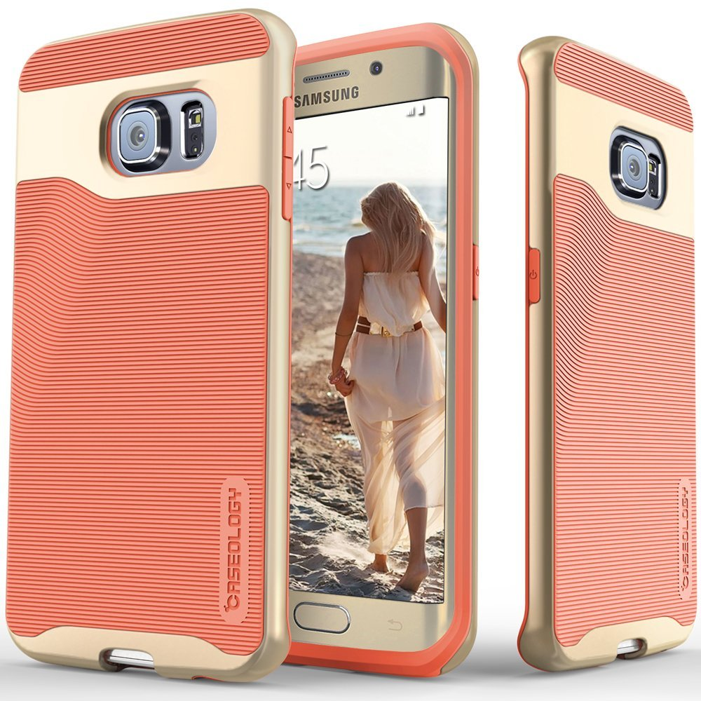 Cover Cel Galaxy S6 Edge Caseology Pink