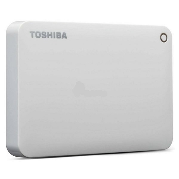 Disco Usb Externo 1.0 Tb 2.5 Canvio Advance White Toshiba V9 Hdtc910xw3aa