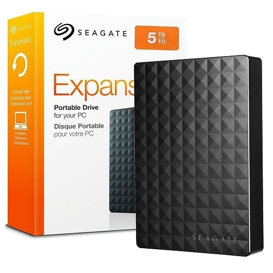 Disco Usb Externo 5tb 2.5 Seagate Expansion