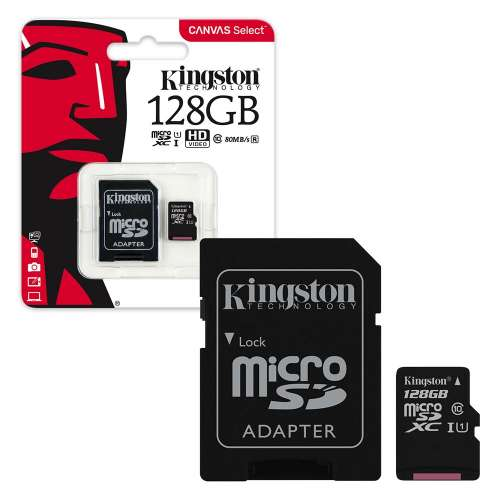 Memory 128.0 Gb Microsd Kingston Sdcs/128gb