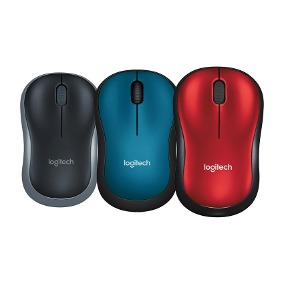 Mouse Usb Logitech M185 Wireless Colors