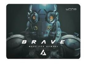 Mouse Pad Unno Tekno Gaming Brave 27x32 Mp6051gn