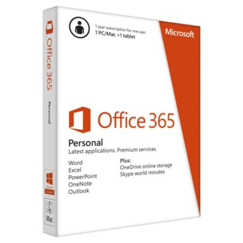 Ms Office 365 Personal 1 Year Esp