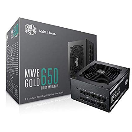 Power Supply 650w Coolermaster Mwe Gold