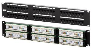 Rj-45 Patch Panel 48 Puertos Cat5e Nexxt Mod. Aw190nxt011