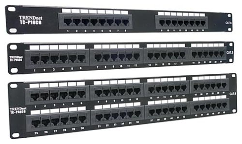 Rj-45 Patch Panel 24 Puertos Cat6