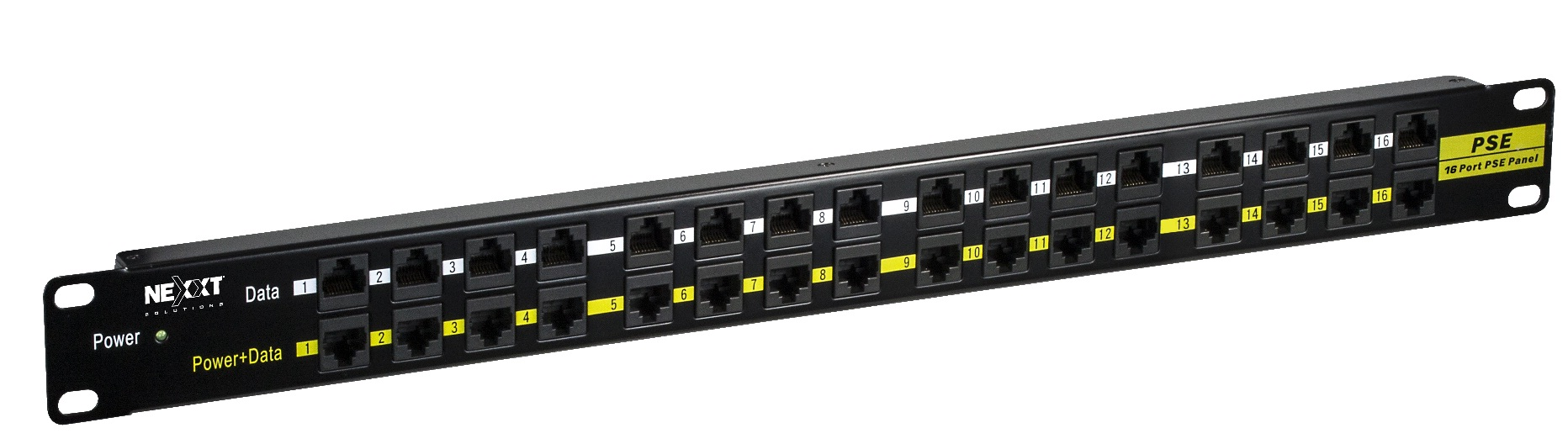 Rj-45 Patch Panel 16 Puertos Nexxt Poe Passive