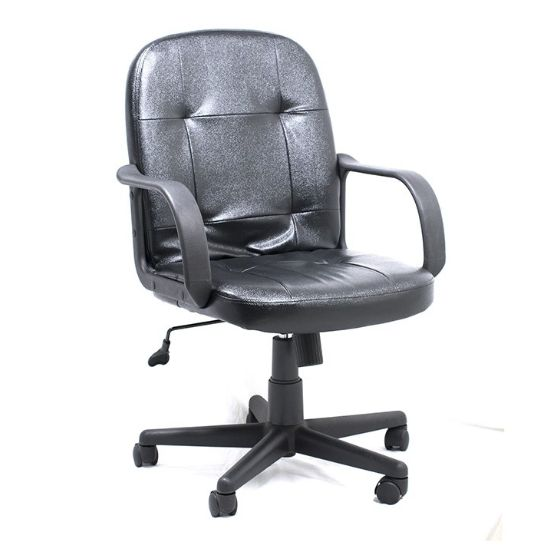 Silla Sec.am160gen27 C/b Black Leather