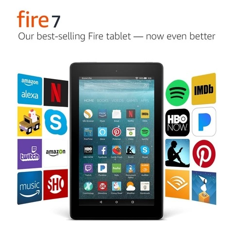 Tablet 7.0 Amazon Fire 7 16gb Con Alexa Black